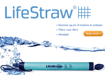 Link to purchase the LifeStraw Personal Water Filter
