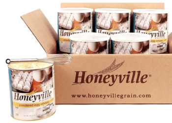 Button to link to Honeyville Grains Website