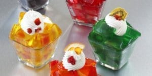Image of Gelatin made with Dehydrated Fruits and Vegetables