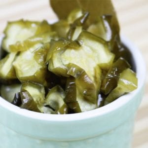 homemade pickles extra spicy dehydrated cucumber habanero