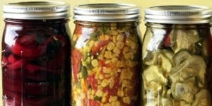 Picture of Pickled Dehydrated Beets, Corn, and Cucumbers