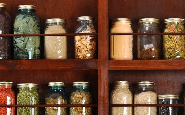 Image of Dehydrated Food Storage Shelves